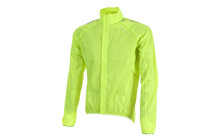 Endura Men's Pakajak Jacket with stuff sack high viz yellow